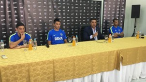 Paolo Goltz Cristian Espinoza Daniel Angelici Edwin Cardona Boca Juniors 27072017