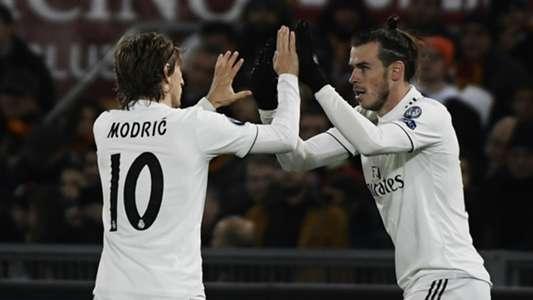 Gareth Bale Luka Modric Real Madrid Champions League 27112018