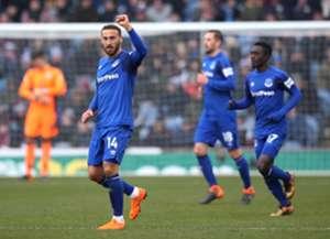 Cenk Tosun Burnley Everton 03/03/18