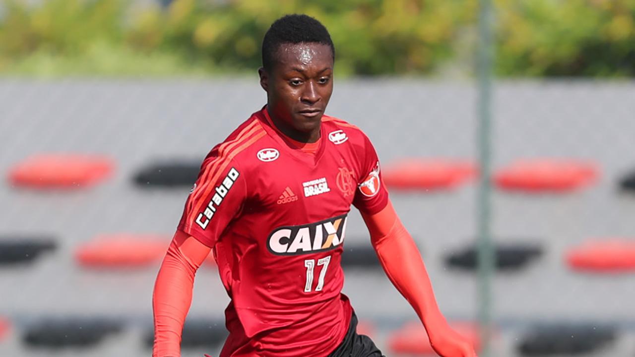 Marlos Moreno Flamengo treino 07072018