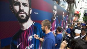 Piqué Barcelona Japão 13 07 17