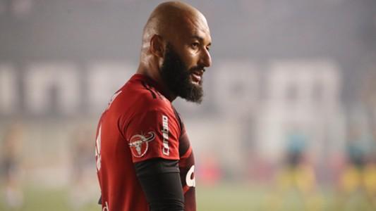 Alex Muralha Flamengo x Santos Vila Belmiro Copa do Brasil 26 07 17