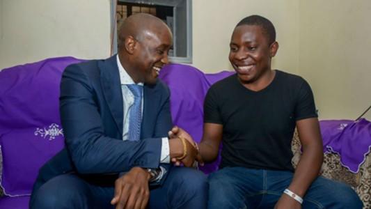 SportPesa Jackpot winner Samuel Abisai