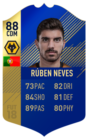 FIFA 18 EFL Team of the Season Ruben Neves