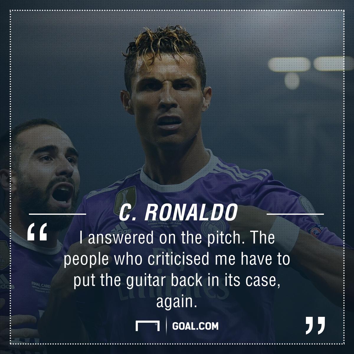 Cristiano Ronaldo playing surface