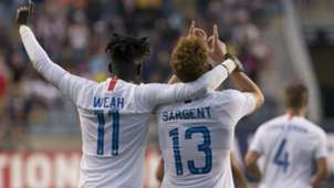 Josh Sargent Tim Weah United States Bolivia