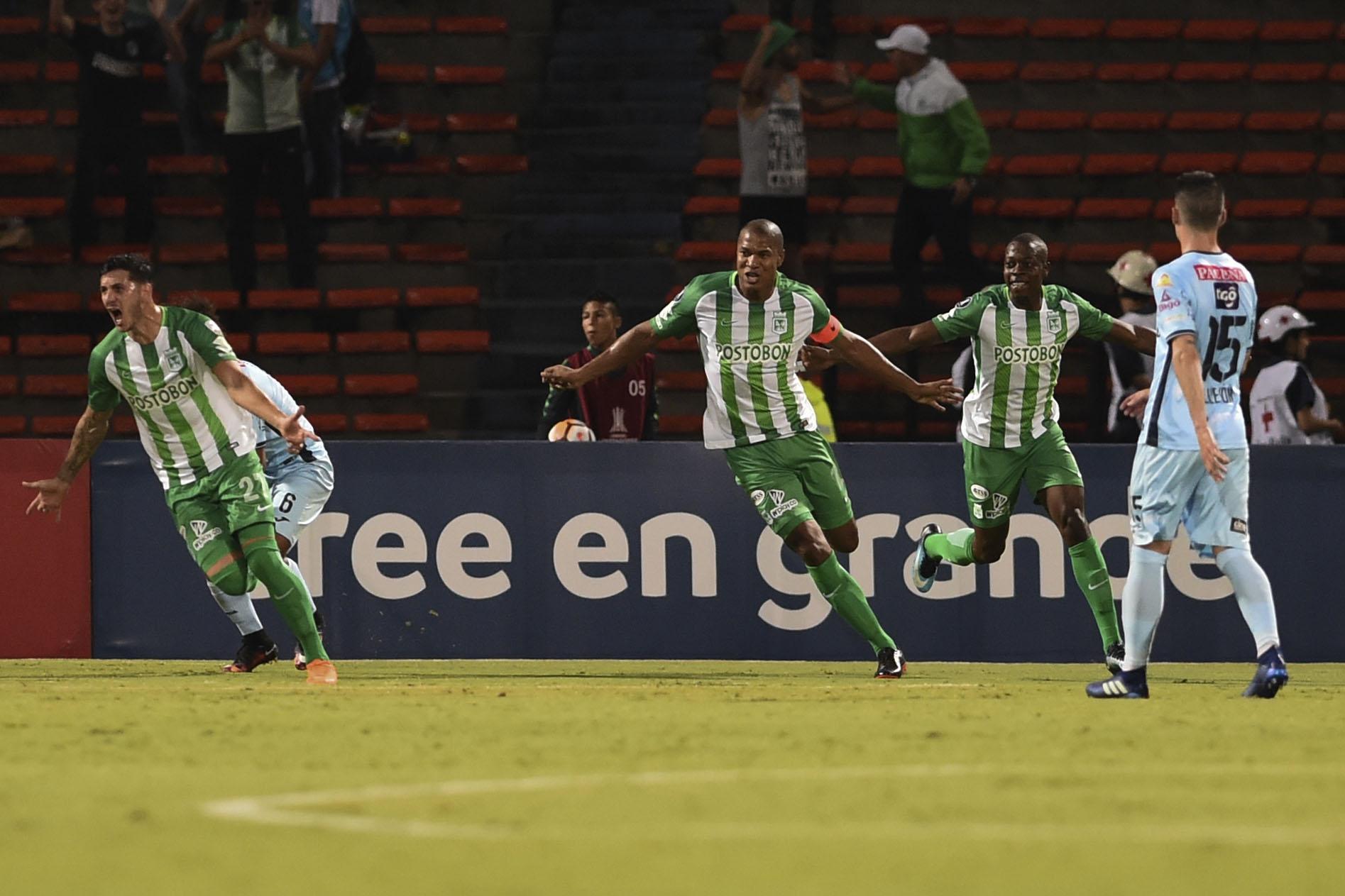 Atlético Nacional vs  Bollívar gol Gonzalo Castellani
