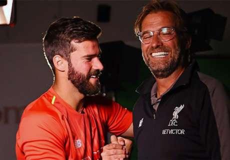 Fix: Liverpool macht Alisson zum teuersten Keeper aller Zeiten