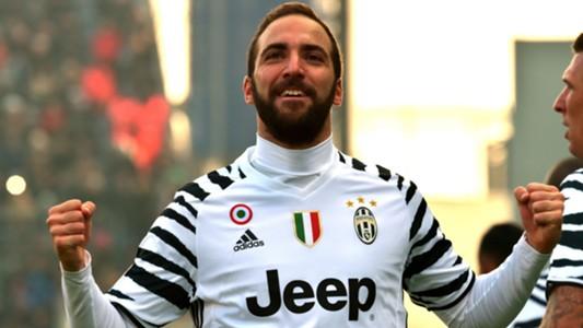 Gonzalo Higuain Sassuolo Juventus Serie A