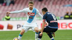 Jorginho Napoli Pescara Serie A 15012017