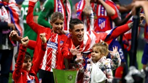 Fernando Torres Atlético Madrid Europa League 16 05 2018