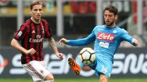 Biglia Mertens Milan Napoli Serie A