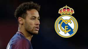Neymar PSG Real Madrid 2017-18