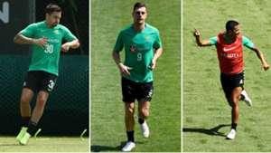 Jamie Maclaren Tomi Juric Tim Cahill Socceroos