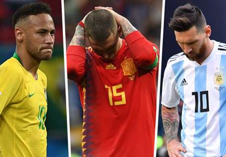 Neymar & the World Cup's biggest disappointments