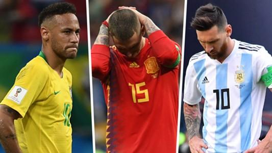 Neymar Sergio Ramos Lionel Messi Split