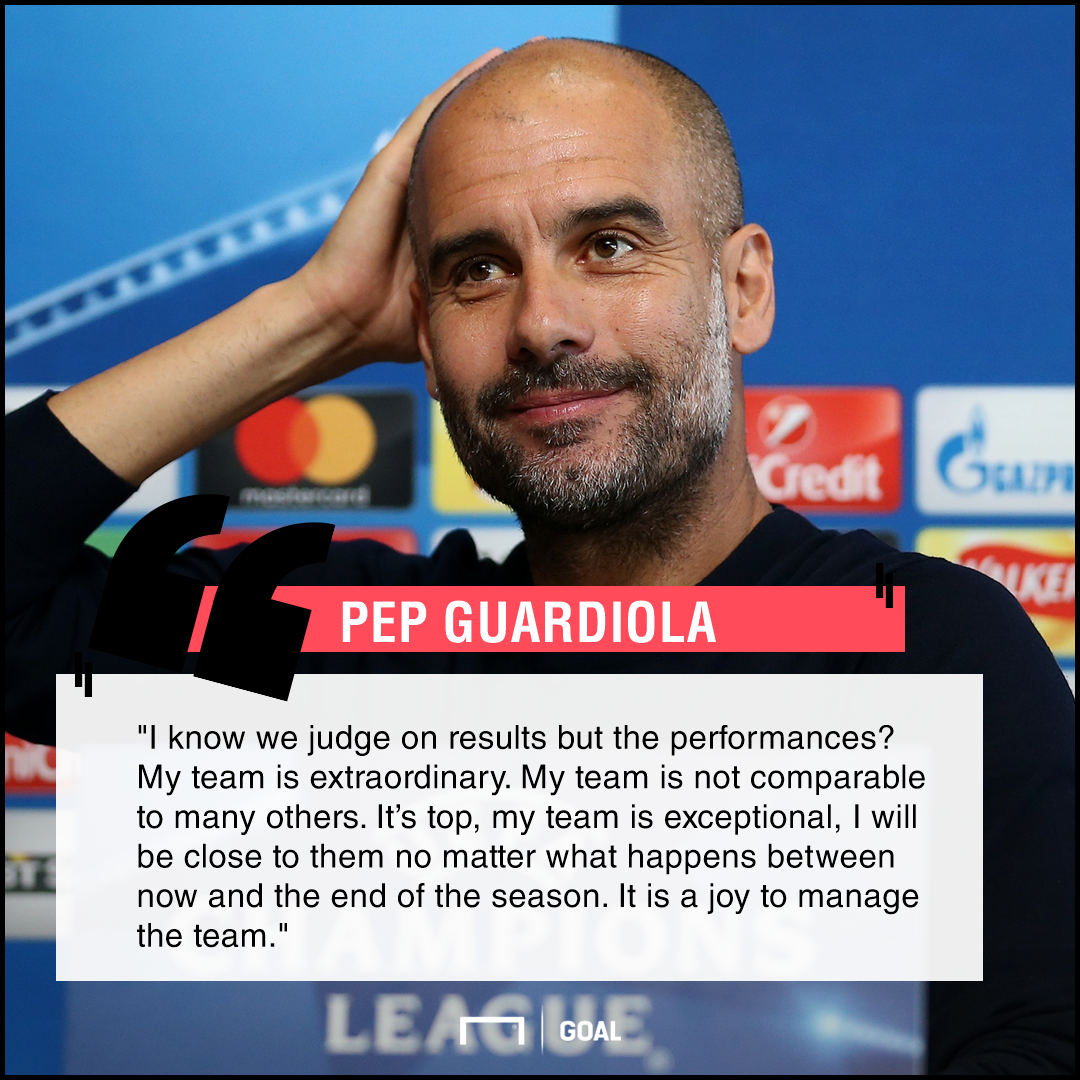 Pep Guardiola quote