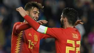 Brais Mendez Isco Spain international friendly 18112018