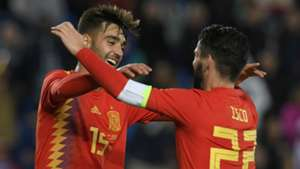Brais Mendez Isco Spain international friendly 18112018