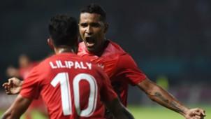 Alberto Beto Goncalves & Stefano Lilipaly Cina Taipei v Indonesia Asian Games 2018