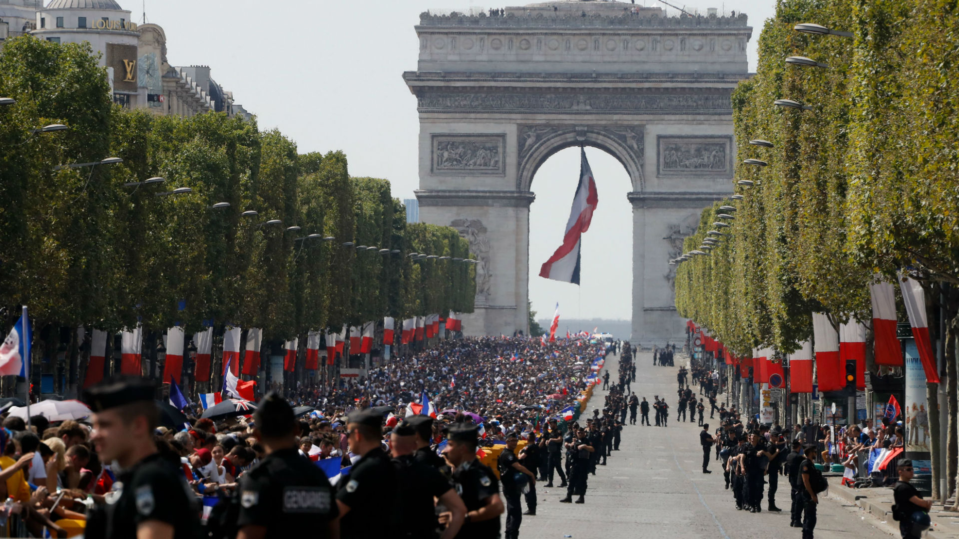 Champs Elysees Paris France 16072018
