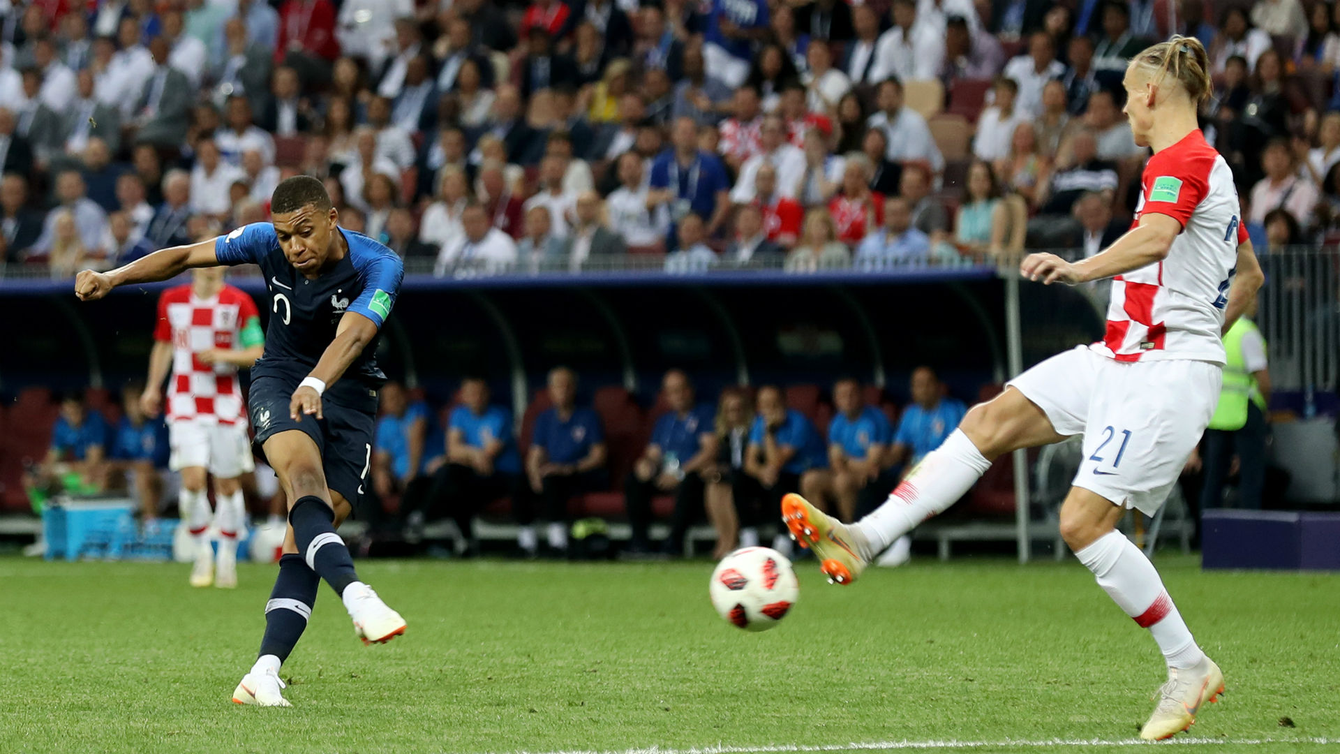 france croatia - kylian mbappe - world cup final - 15072018
