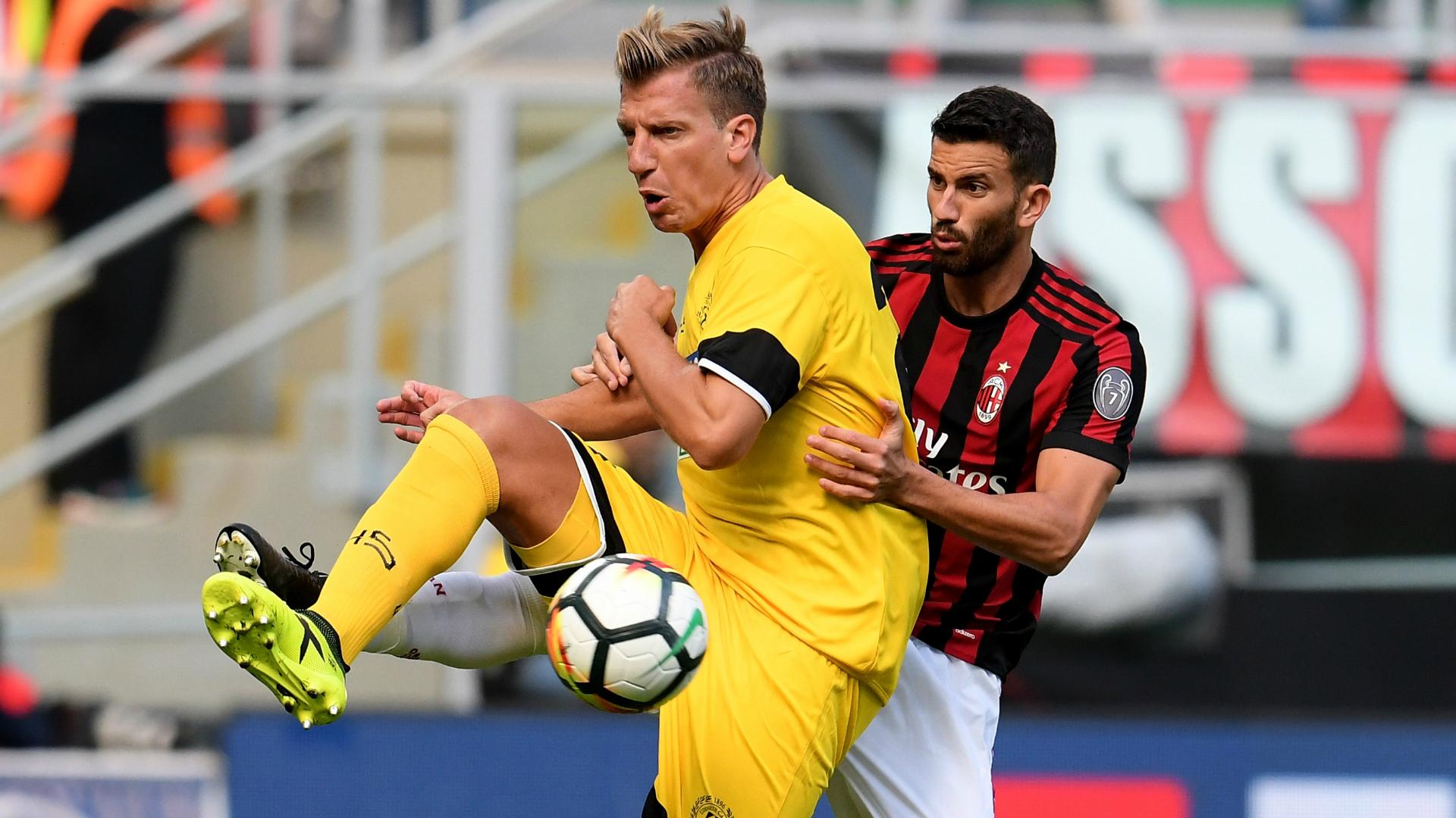 Maxi Lopez Musacchio Milan Udinese Serie A