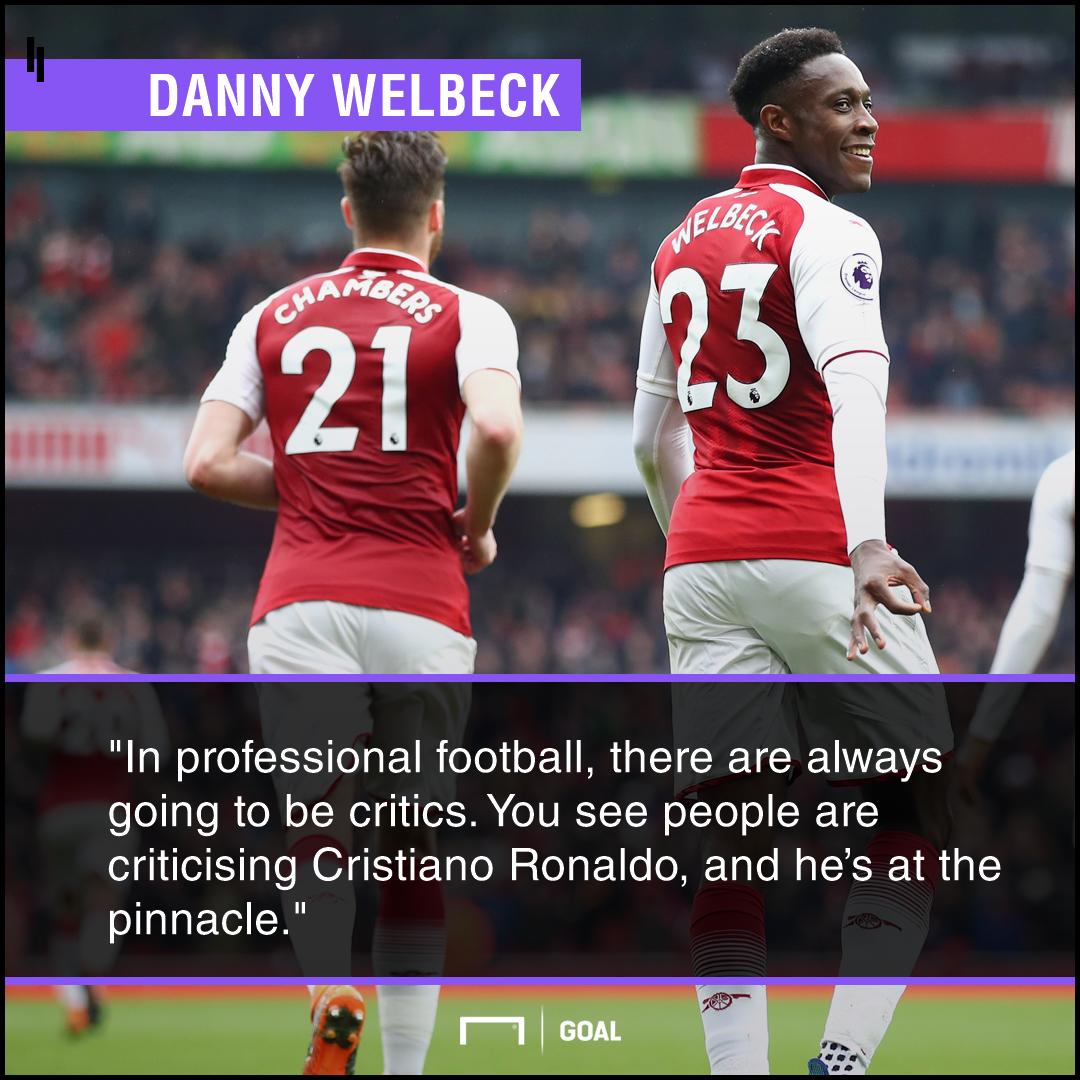 Danny Welbeck even Ronaldo has critics