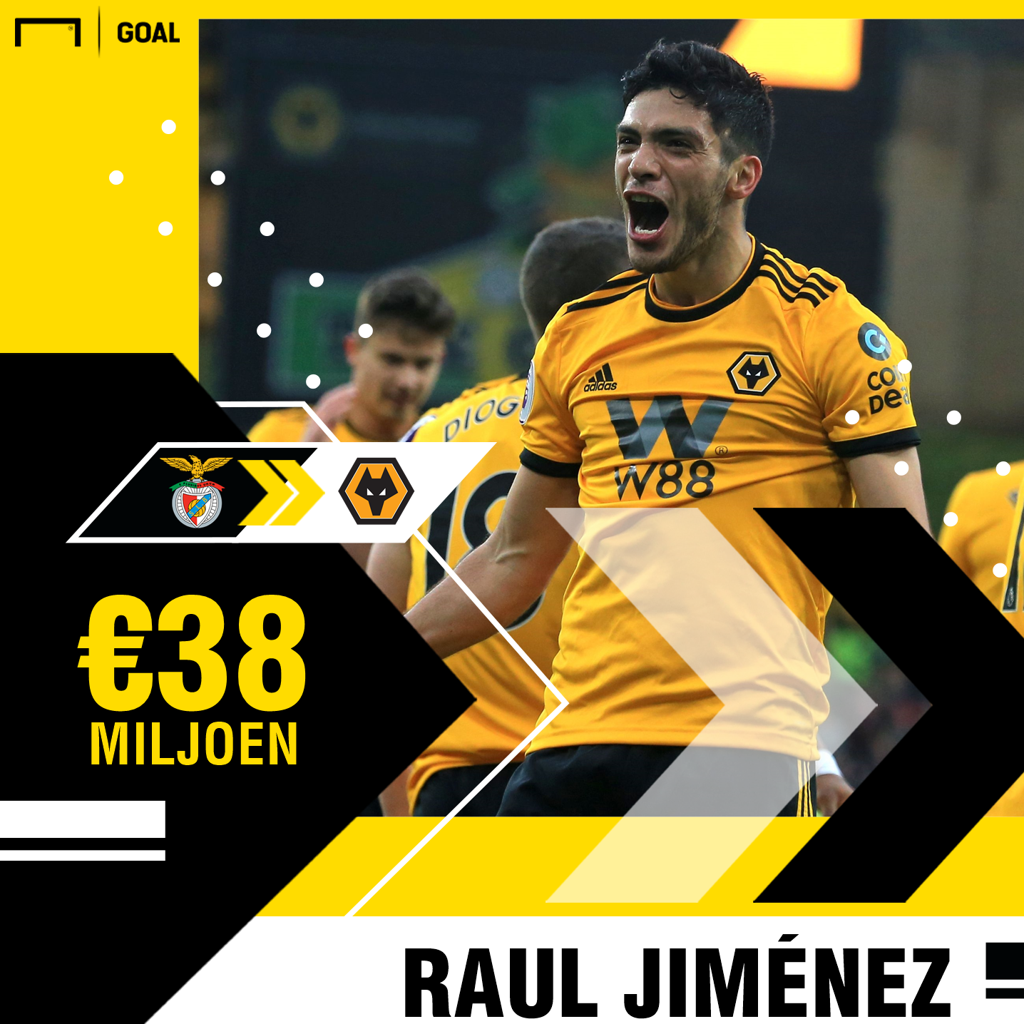 Raul Jimenez GFX
