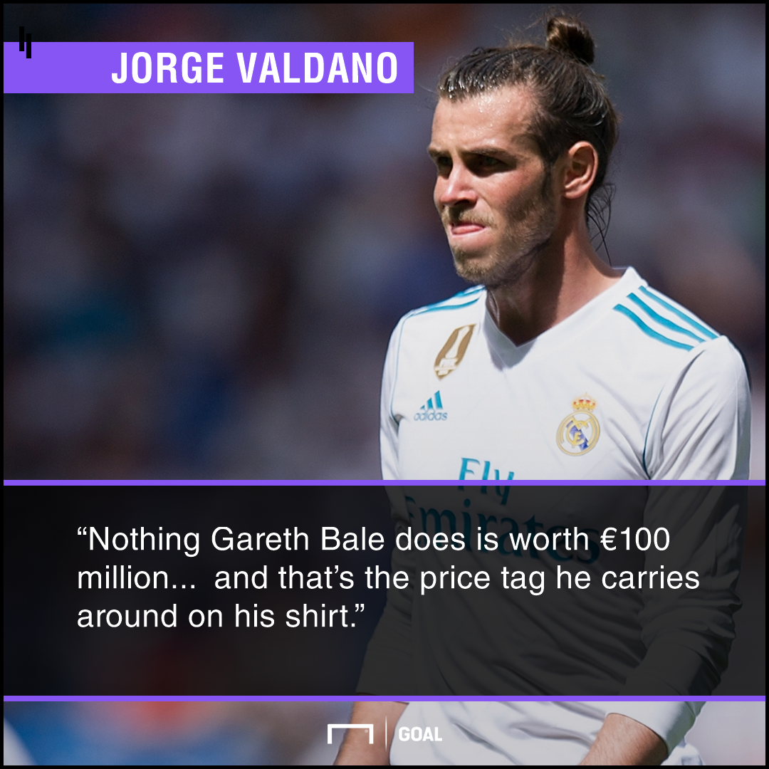 Valdano quote on Bale
