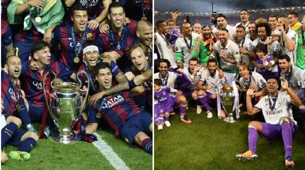 Barcelona Real Madrid UCL