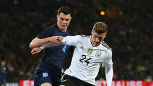 Timo Werner Michael Keane Germany England 22032017