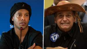 Ronaldinho, Jair Bolsonaro