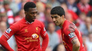 Daniel Sturridge, Luis Suarez, Liverpool