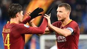 Patrick Schick Edin Dzeko Roma