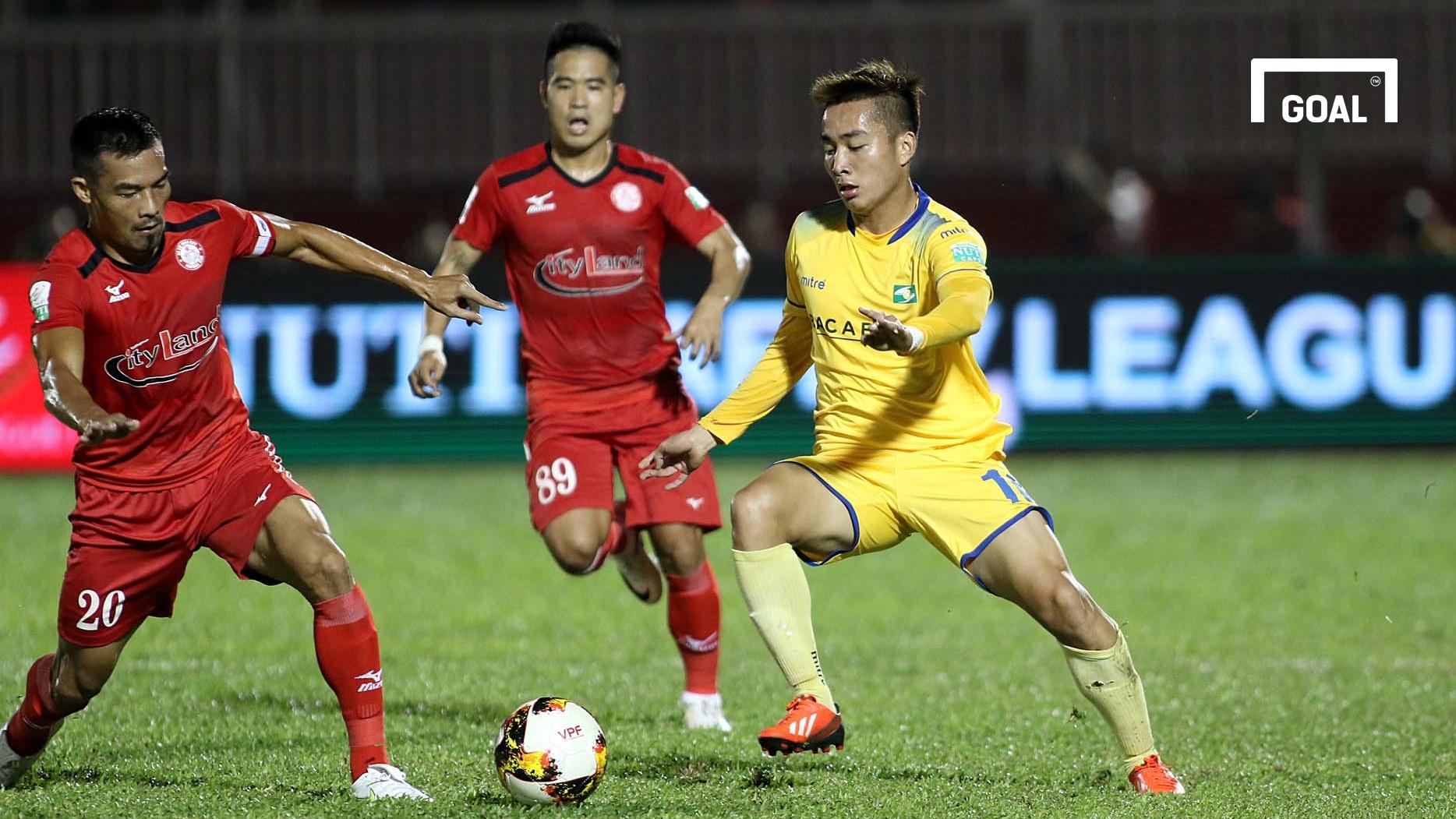 CLB TP.HCM SLNA Vòng 1 V.League 2018