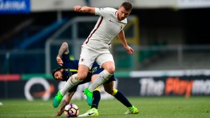 Edin Dzeko Lucas Castro Chievo Roma Serie A 05202017