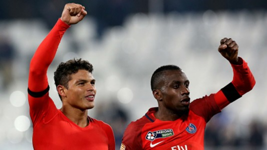 Thiago Silva Blaise Matuidi PSG