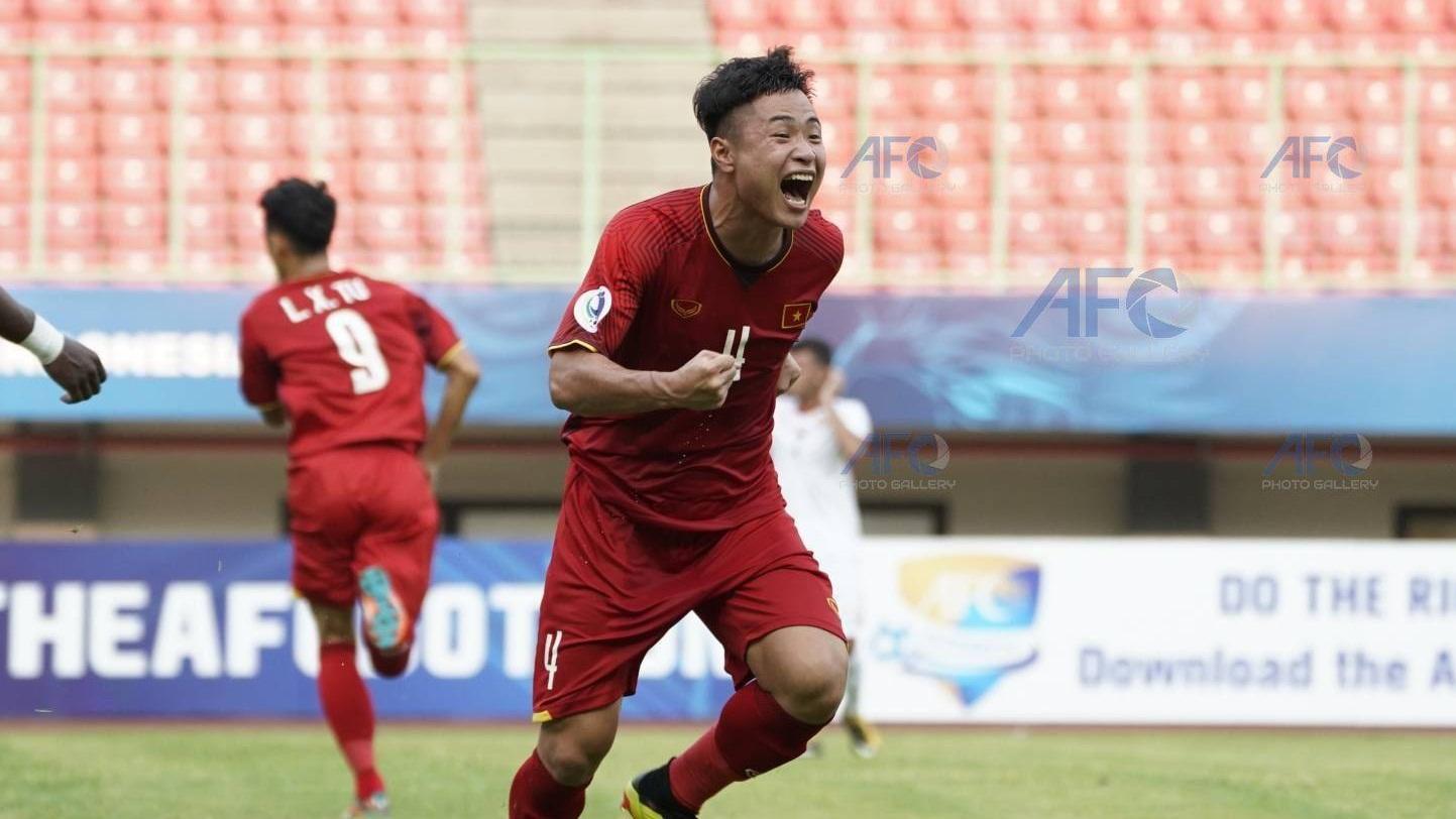 U19 Việt Nam U19 Jordan Bảng B VCK U19 châu Á 2018