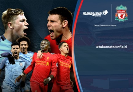 Man City Liverpool Malaysia Airlines