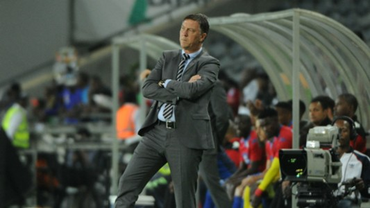 Kjell Jonevret head coach of Orlando Pirates
