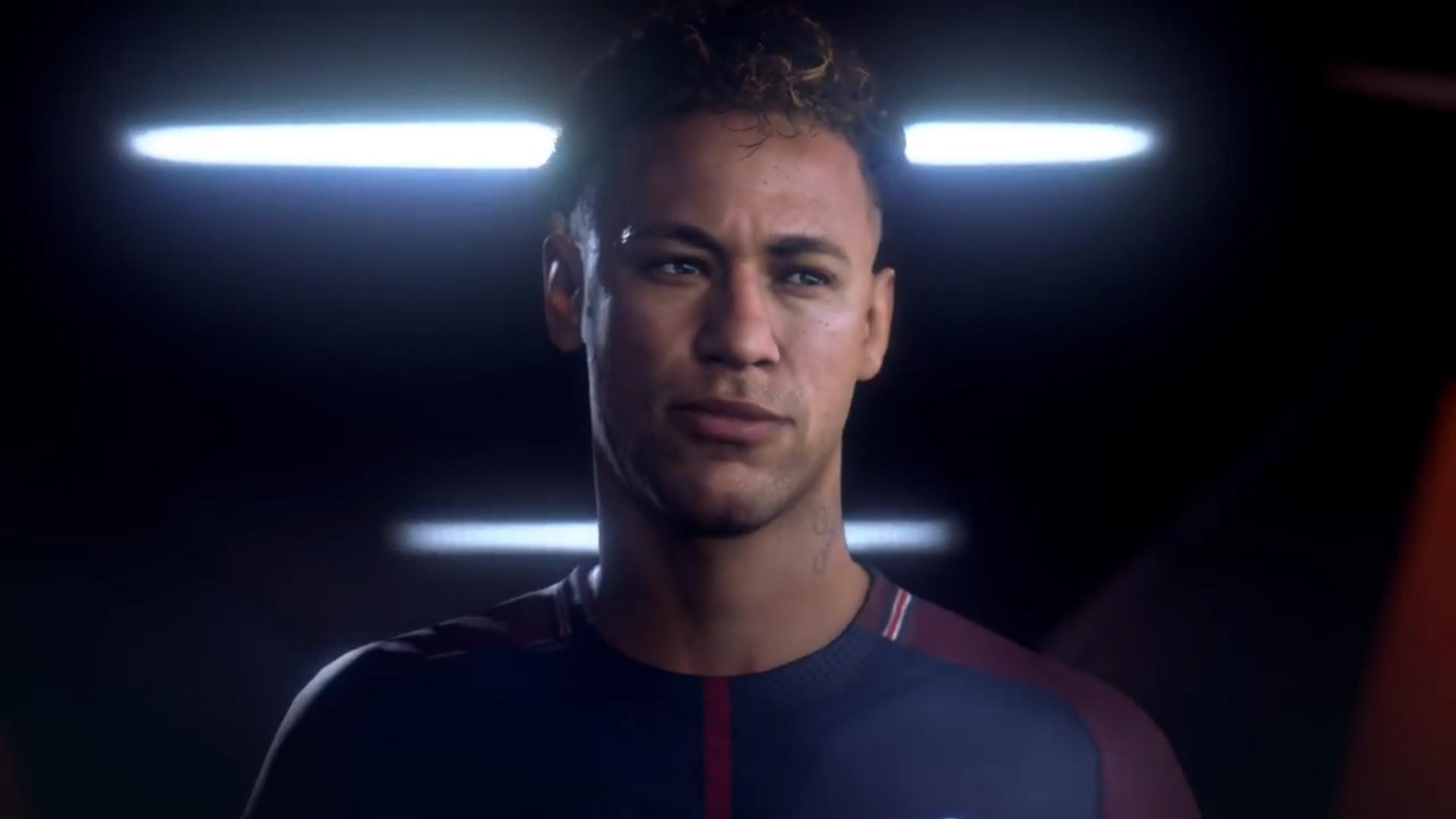 Neymar FIFA 19 game footage