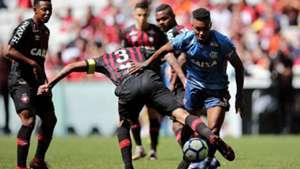 Vitinho Flamengo x Atlético-PR Arena da Baixada Brasileirão 19 08 18