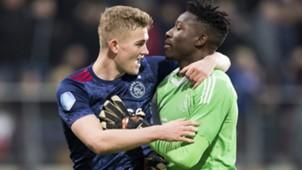 Matthijs de Ligt, Andre Onana, Ajax, Eredivisie 12172017