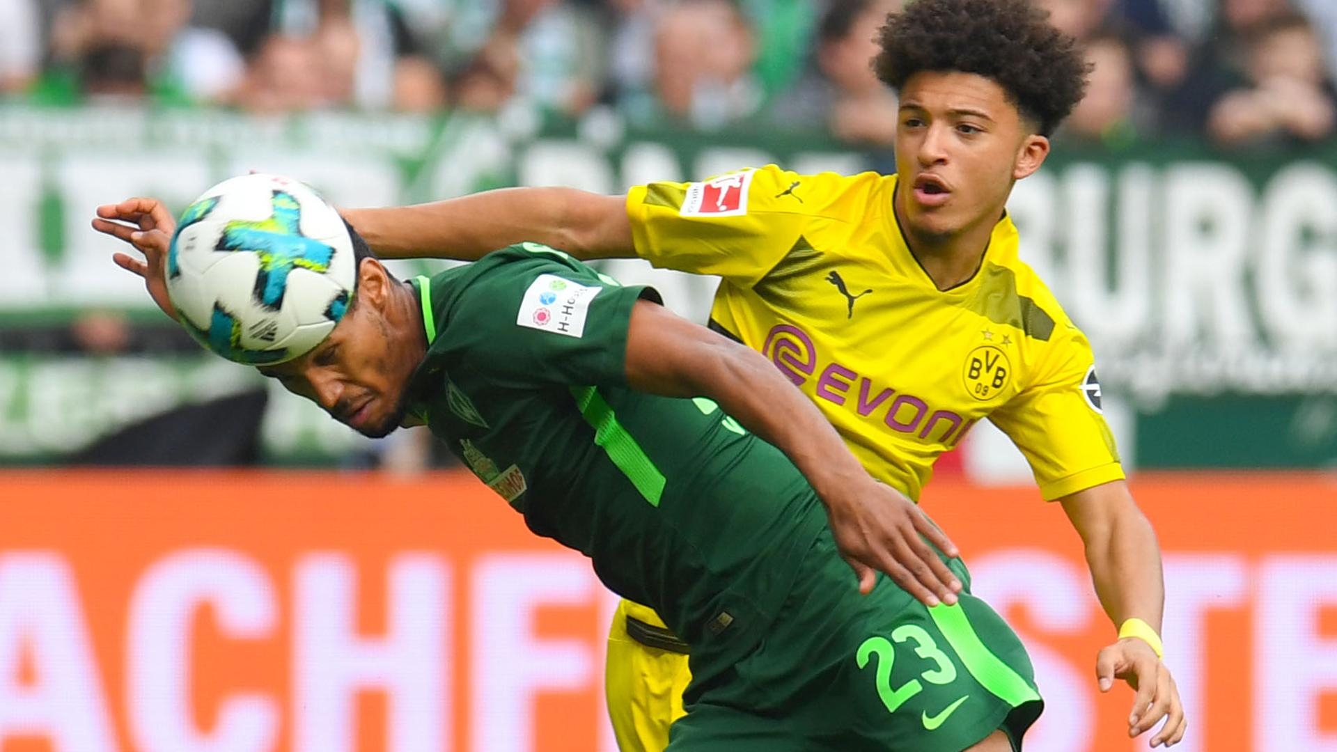 Jadon Sancho Werder Bremen Borussia Dortmund BVB 29042018