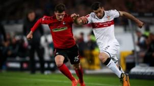 Emiliano Insua Pascal Stenzel VfB Stuttgart SC Freiburg