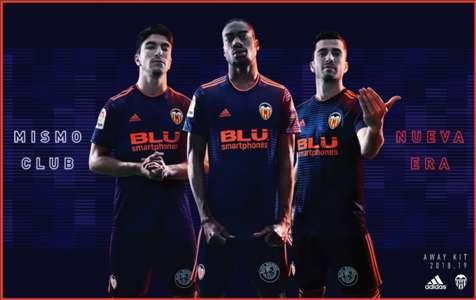 Valencia away kit
