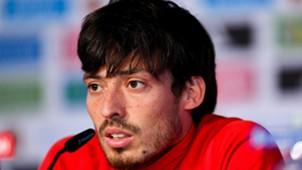 David Silva Spain press conference UEFA EURO 19062016