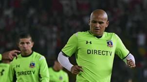 260215 Humberto Suazo Felipe Flores Santa Fe Colo Colo Libertadores