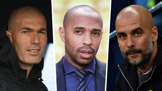Zidane, Henry, Guardiola composite